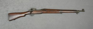 1917 Enfield Eddystone rifle as referenced in Dad's February 7, 1943 letter. This is the type of rifle they trained with while at basic training in Miami Beach. Image credit: www.liveauctiongroup.net