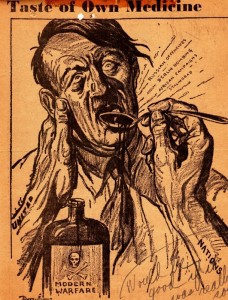 A political cartoon from the January 26, 1943 edition of the Albany Times Union newspaper.