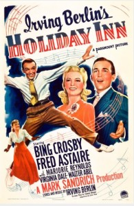 Poster art for Holiday Inn. Image credit www.imdb.com