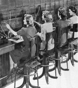 A WWII era switchboard similar to the one that Ann McCann may have operated.