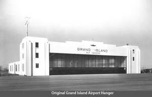 Undated Photo of a hangar at Grand Island. Image Credit: www.flygrandisland.com