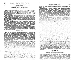 Pages from a book of Army regulations dated 1913 concerning the mess fund. Image Source: Google Books