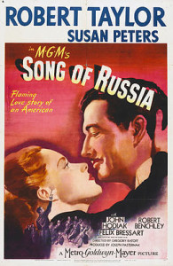 Poster art for Song of Russia