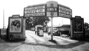 Auto vision Drive In East Greenbush Albany, NY late 1940s. Photo credit: Filckr.com AlbanyGroup Archive