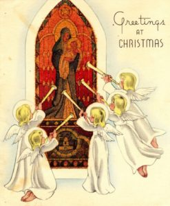 Cover of a Christmas Card from the War Letters Archive